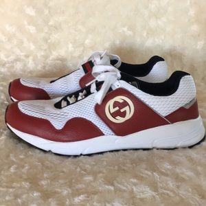 Men's Gucci athletic style shoes